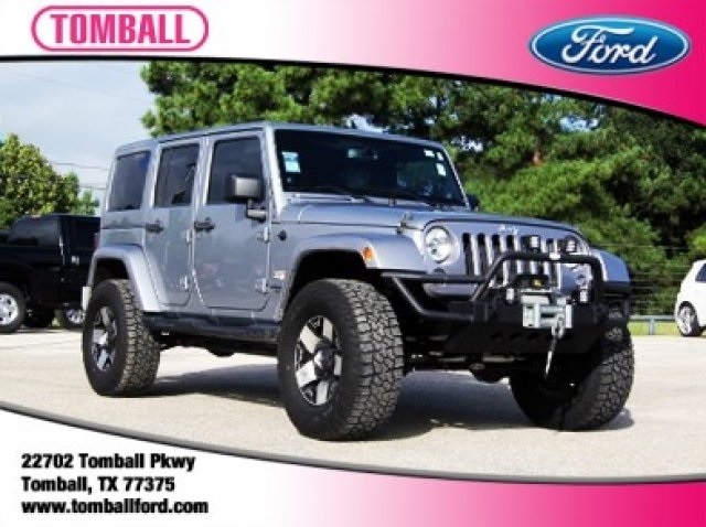 Pre Owned 2014 Jeep Wrangler Unlimited Unlimited Sahara