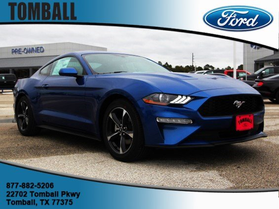 new 2018 ford mustang ecoboost 2d coupe in tomball 5108178 tomball ford. Black Bedroom Furniture Sets. Home Design Ideas