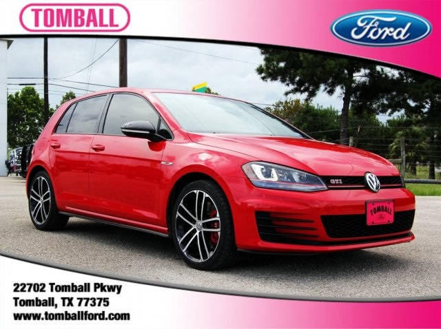 Pre Owned 2017 Volkswagen Golf Gti 4d Hatchback In Tomball Hm009225