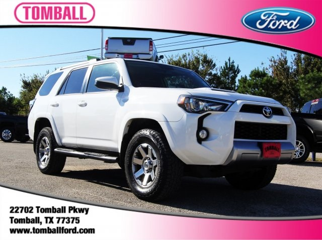 pre-owned 2015 toyota 4runner sr5 4d sport utility in tomball