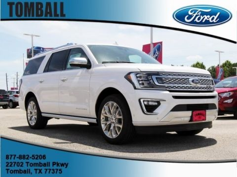 New 2019 Ford Expedition Max Platinum