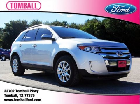 Pre Owned  Ford Edge Sel D Sport Utility In Tomball Eba